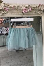 Olivia blue tulle skirt