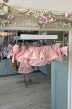 Phi pink bow jam pants