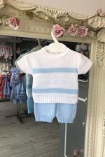 Knitted Boat Two Piece