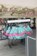 Phi flamingo print jam pants