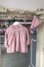 Jose Varon dusky pink three piece set