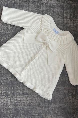 Foque cream knitted coat