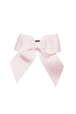 Condor baby pink hair bow