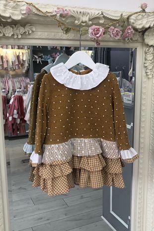 Yoedu caramelo dress
