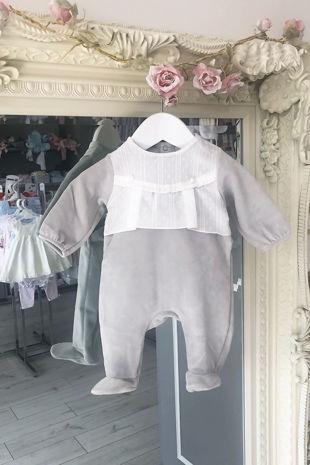 Bobbi grey baby grow