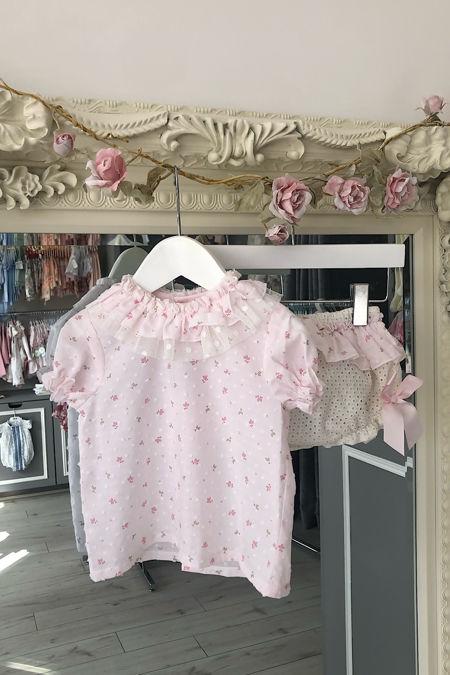 Dottie pale pink jam pants set