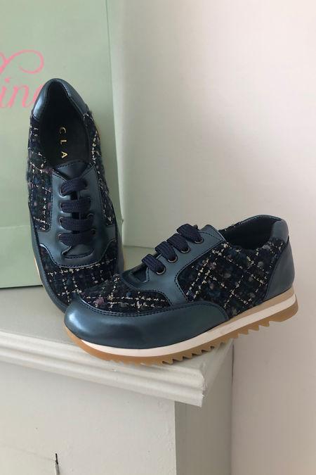 Clarys blue trainers