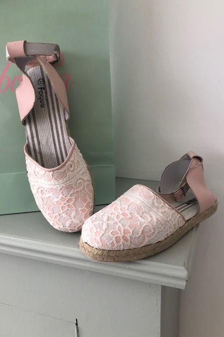 foque girls pink sandal