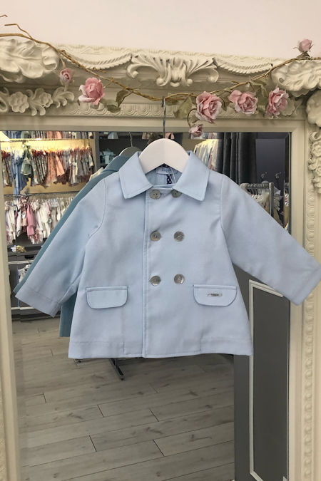 Foque boys blue coat