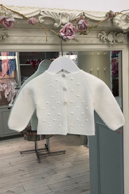 Juliana cream cardigan