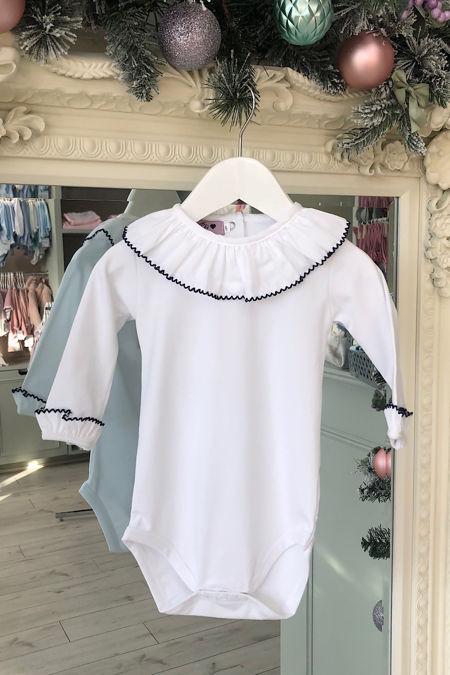 Phi navy trim vest/t shirt
