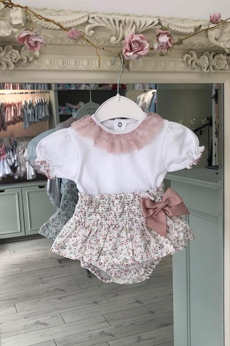 Valentina floral jam pants set