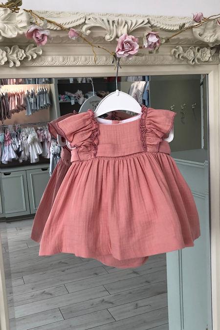 Valentina rosa bow back dress and knickers set