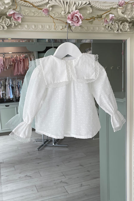 Valentina Lily ivory blouse