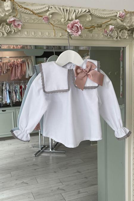 Valentina Thea bow blouse