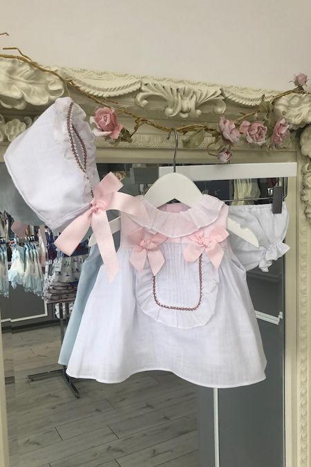 Yoedu Flor pink and white 3 piece set