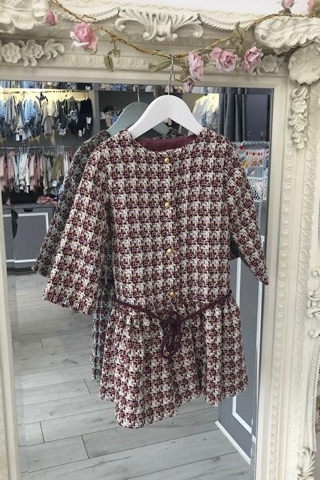 Fina Ejerique tweed dress
