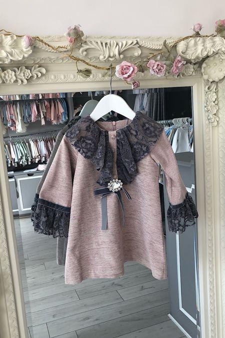 Rochy lace trim dress