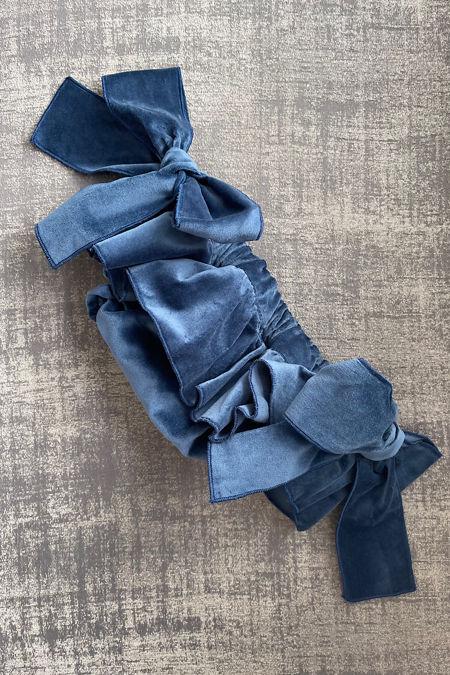 Phi navy velvet jam pants