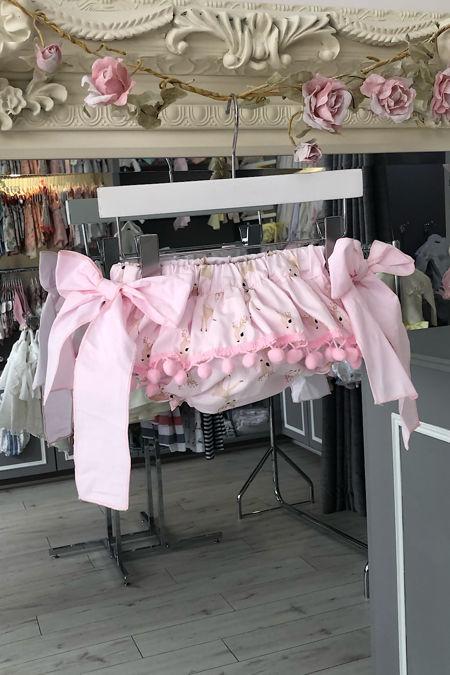 Phi pink bambi print jam pants