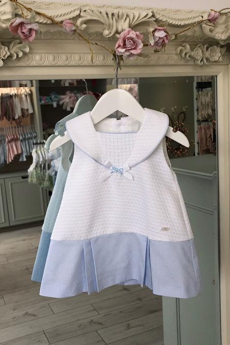Yoedu Isla blue and white sailor dress