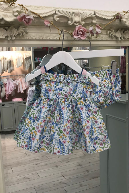 Florence floral dress and knickers set