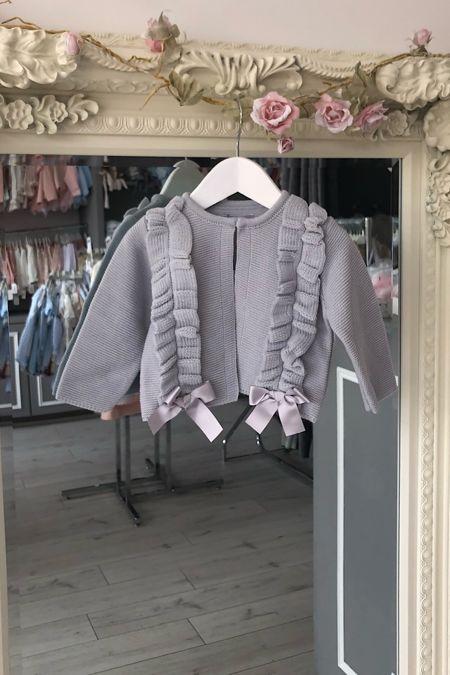 Rochy grey frill cardigan