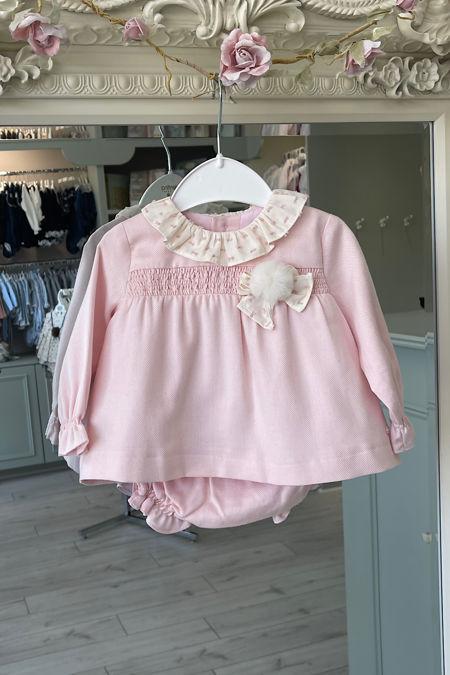 Yoedu Grace pink dress and knickers set