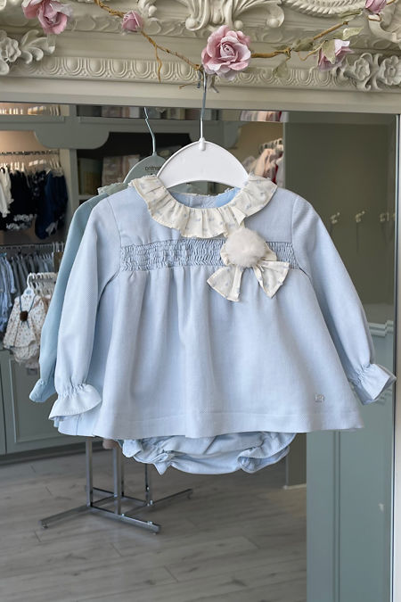 Yoedu Grace blue dress and knickers set