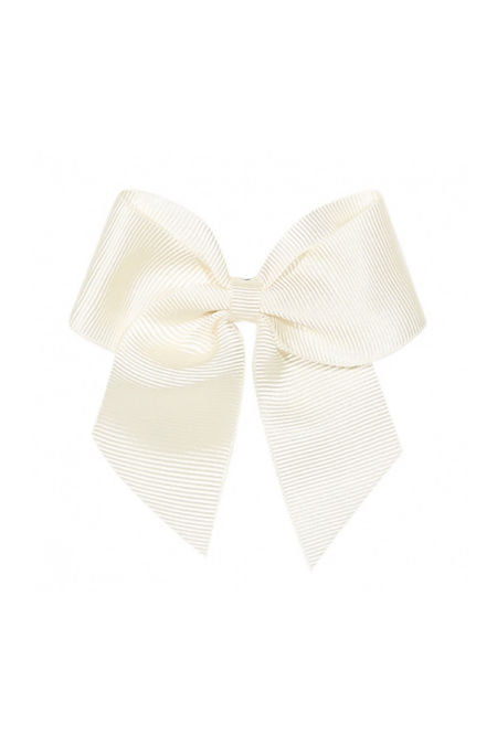 Condor cream hair bow