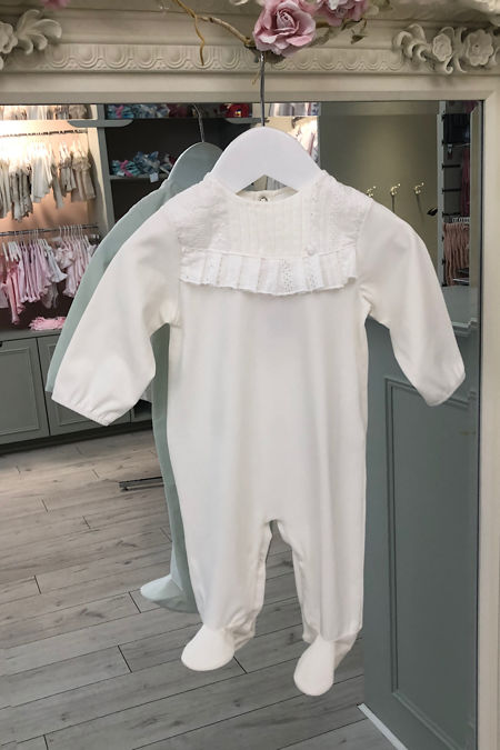 Dolly cream frill babgrow