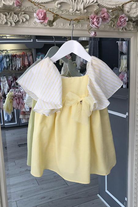 Yoedu margarita lemon dress