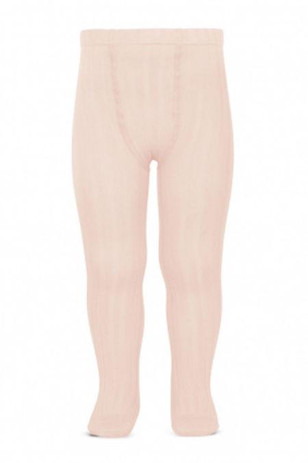 Condor nude pink ribbed tights