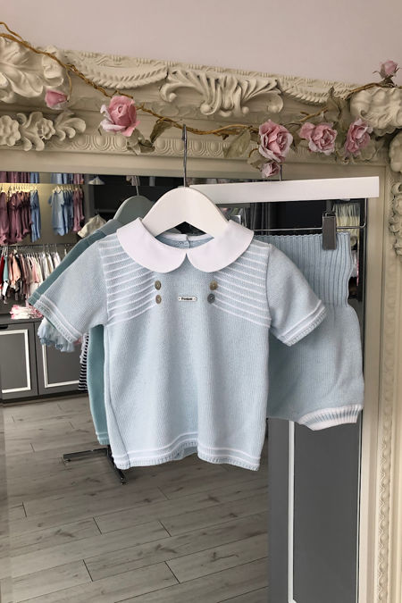 Foque boys knitted set