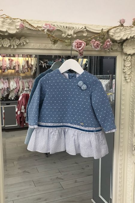 Yoedu Mila dusty blue dress