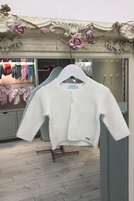 Foque cream cardigan