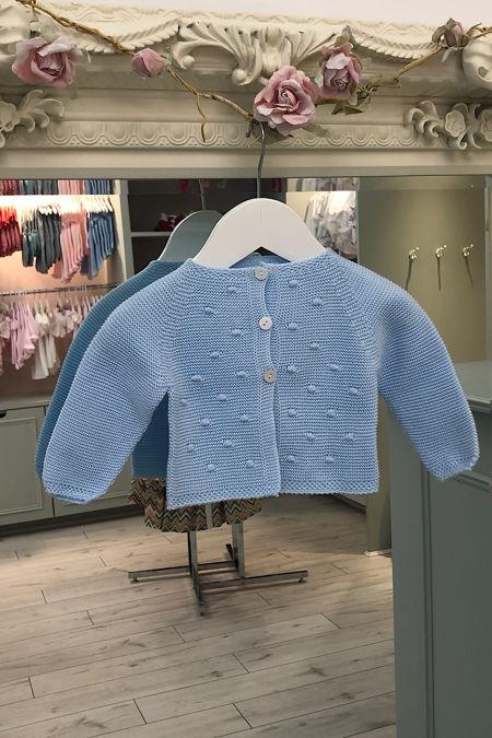 Juliana baby blue cardigan
