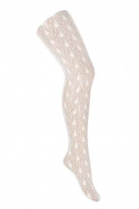 Condor white lace tights