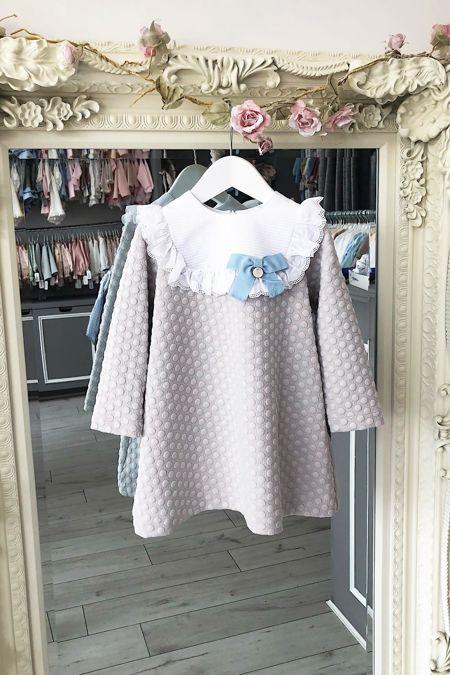 Rochy bubble grey dress