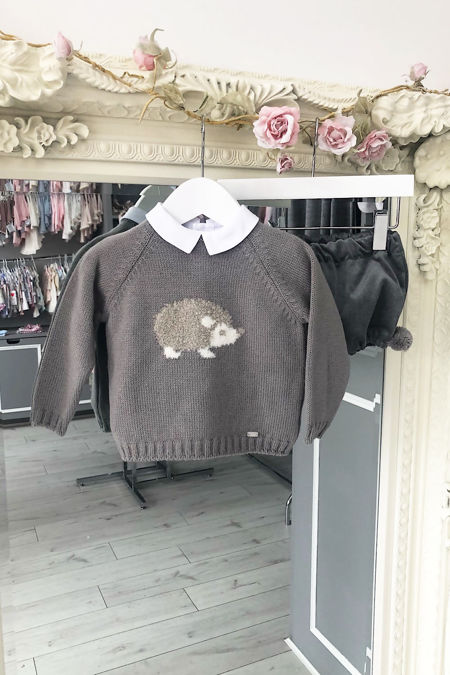 Yoedu grey hedgehog three piece set