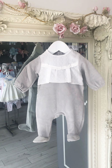 Bobbi grey baby grow