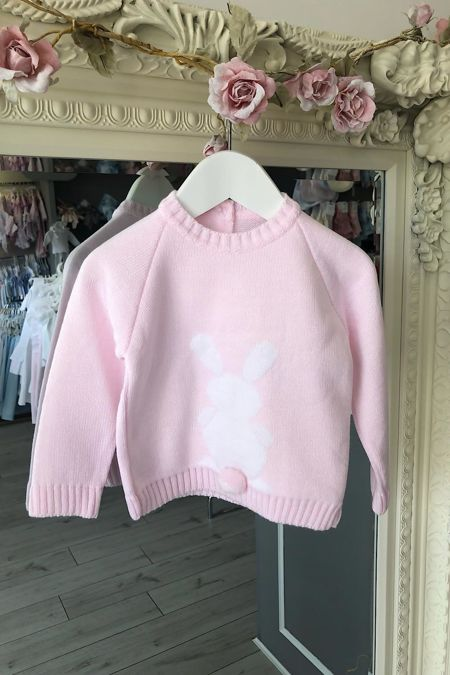 Pink bunny jumper