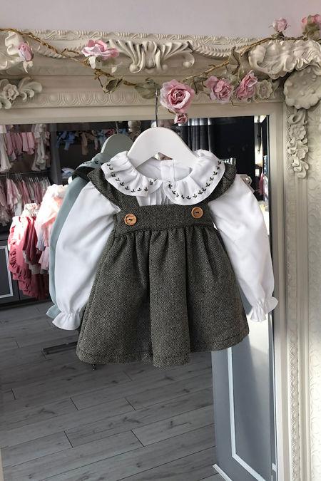 Valentina Rebecca dress and blouse set