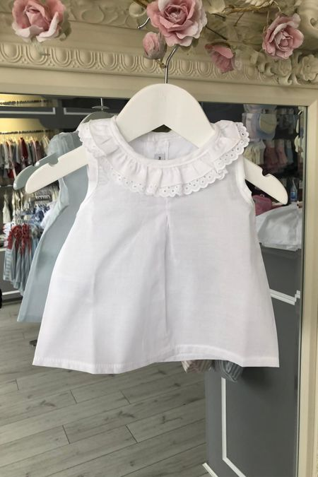 Sicily white blouse