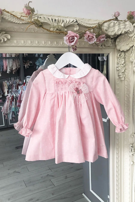 Yoedu pink Petra star print dress