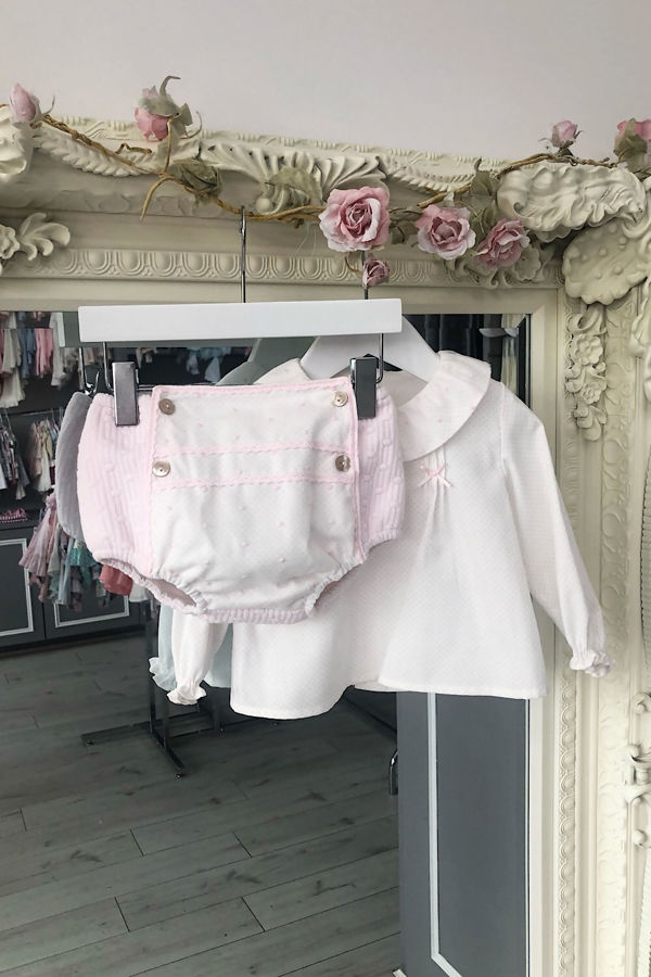 Yoedu bobby pink jam pants set